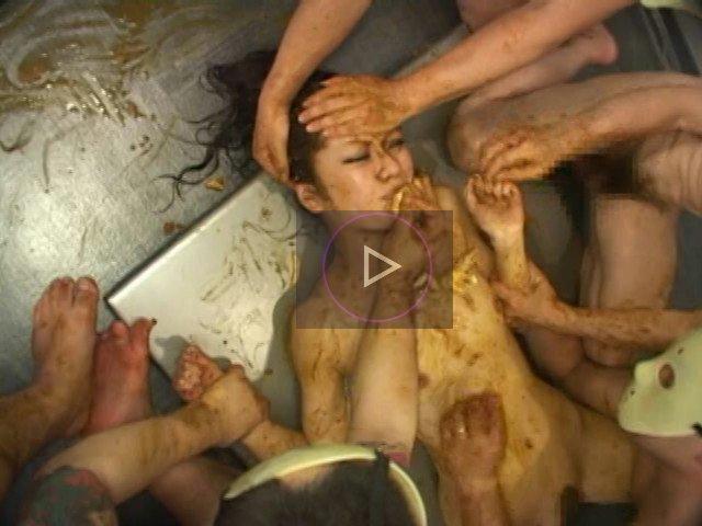 [閲覧注意!]女の子がヒドイスカトロ拷問で号泣 脱糞セレブ16