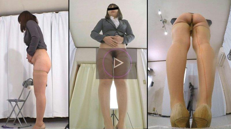 立ったままウンコする女の子動画 直立脱糞2 排泄実験観察シリーズ16