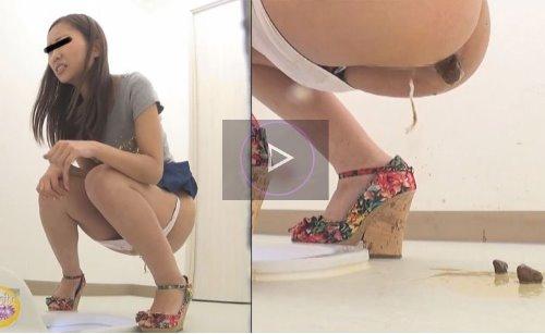 タンポンしてる女の子がトイレでウンコをお漏らしする動画 新生・盗撮恥態トイレ うんこ漏らしプレミアム2