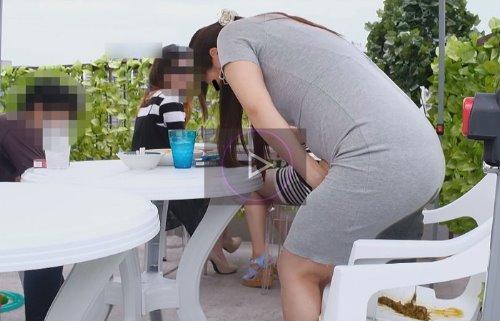 ビアガーデンでうんこをお漏らしする女の子を盗撮 ビヤガーデンで見たうんこ漏らし女!2