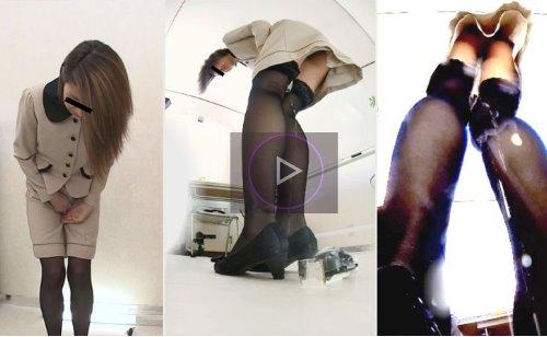 女性モデルが撮影中に我慢できずにおしっこおもらしする動画 スカートが濡れ行くお漏らし 七