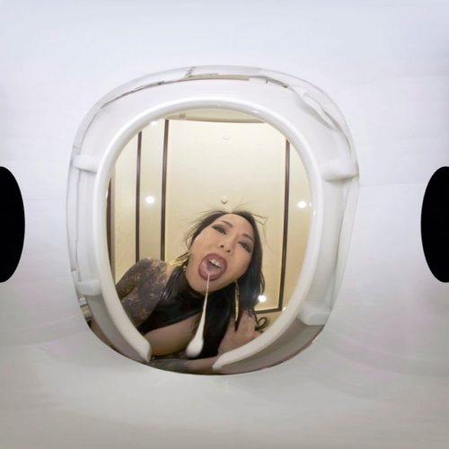 【VR高画質】M男を人間便器にして楽しむゲロスカ女子倶楽部 妖湖女王様