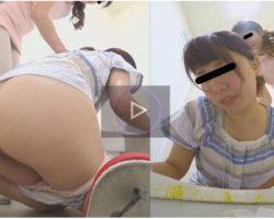 女の子たちがトイレで体調悪くてゲロも下痢もしちゃう動画 集団感染 隠撮 病院トイレ 下痢嘔吐